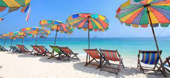 Phuket Beach umbrellas
